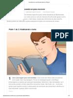 Como Escrever Uma Resenha Literária_ 15 Passos