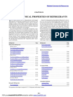 Refrigerants Tables and Charts SI