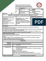 Planeación BIOLOGÍA 3.1