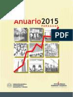 Anuario Estadistico 2015