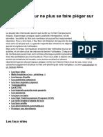 15 Astuces Pour Ne Plus Se Faire Pieger Sur Le Net 32768 Lsamni