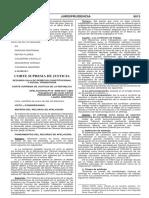 FIJAN DOCTRINA JURISPRUDENCIAL SOBRE LAS CAUSALES DE NULIDAD DE LAUDO ARBITRAL ECONÓMICO