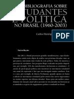 Bibliografia sobre Estudantes e Política no Brasil (1960-2003)