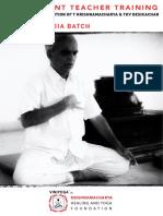 KHYF Vedic Chant Training India 2019-20-20