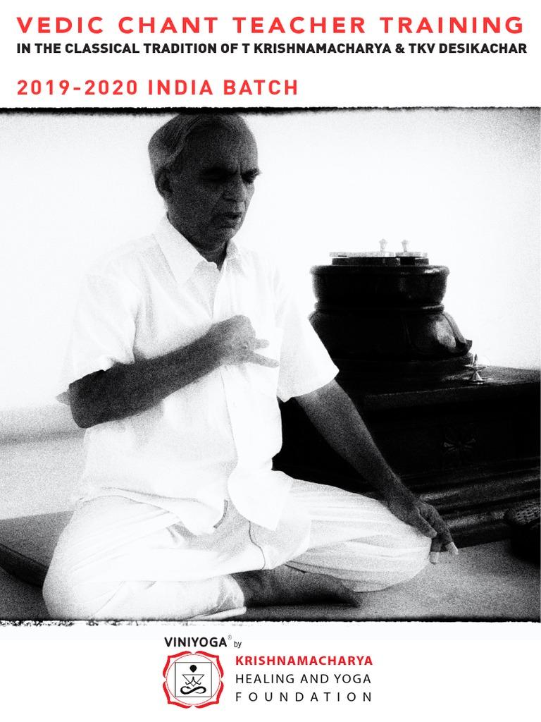 KHYF Vedic Chant Training India 2019-20-20 | Mantra | Vedas