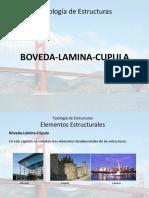 Tipología de Estructuras Boveda Lamina Cupula