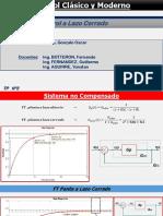Diseño compensadores PI, PD, PID