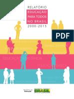 Relatório - Educação para Todos no Brasil (2000-2015).pdf