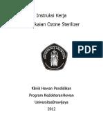 01300 06179 IK Pemakaian Ozone Sterilizer Klinik