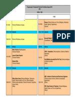 UFG- Calendário Programação