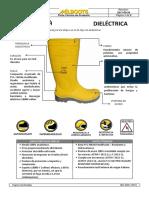 Mlb-cmr-dcm-05.18 [1.1] Berraca Dielectrica Amarilla-ploma 1