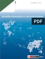 Boletín POstal Perú 2016