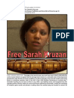 Manifesto of Support for Sarah Kruzan