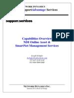 Network Dynamics Online Asset & Cisco SmartNet Management Overview