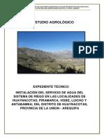 ESTUDIO AGROLOGIA