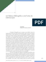 Um Balanço Bibliográfico e de Fontes Da Estereoscopia