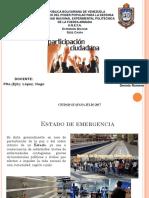 Diapositiva de Din Estado de Emergencia y de Excepcion
