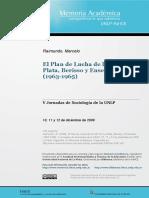Plan de Lucha en Berisso y La Plata