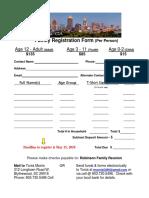 family reunion registration      form-atl 2018 1