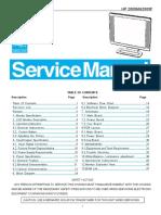 Hp 2009m 2009f Lcd Monitor Service Manual