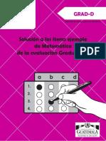 Solucion Items Mate GRAD-D