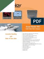 ComNav Ocean Master SSRC NX3 Rate Compass