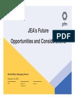 JEA's Future PFM Presentation FINAL