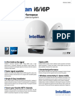 Intellian i6-i6P Datasheet