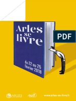 Programme Arles Se Livre 2018