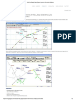 WinFlow Steady State Pipeline Hydraulic Simulation Software
