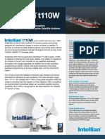 Intellian t110W Brochure