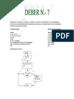 Ejercicios Programacion Diagrama de Flujo