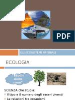 Gli Ecosistemi Naturali