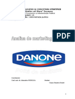 Activitatea de Marketing a Firmei Danone 1