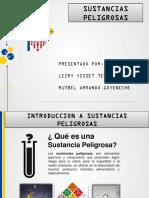 EXPOSICION SUSTANCIAS PELIGROSAS