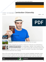 How to Obtain Cambodian Citizenship _ B2B CAMBODiA