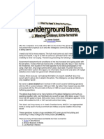 Project Manequin and Underground Bases.docx