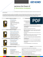 Portable Analyser Range Jun 2016