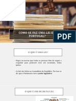 Como se faz uma lei em Portugal?