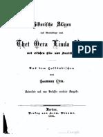 Historische Skizzen auf Grundlage von Thet Oera Linda Bok