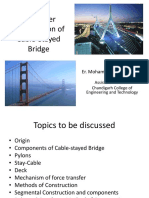 Cantilever Construction of Cable-Stayed Bridge
