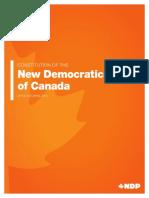 NDP Constitution