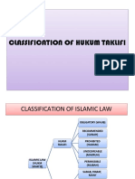 Classification of Hukum Taklifi-1