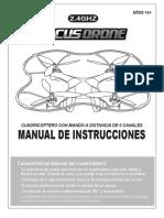 manual de uso de dron