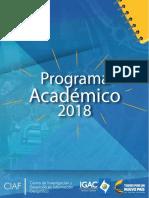 Programa Academico 2018