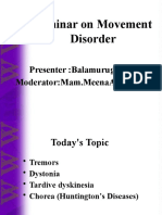 Seminar on Movement Disorder