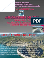 Irrigacion en Peru