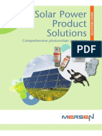 WOB Solar Power Product Solutions Guide Brochure