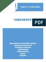 Reflexión John Dewey Actividad 2
