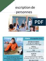 Presentacion Personajes Frances 1ESO